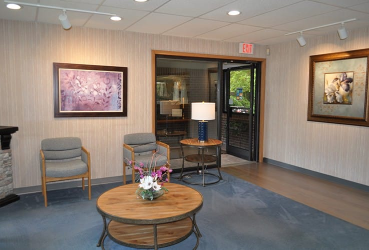 David M. Fisher, DDS waiting room