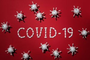 Dentist in Greensboro representing COVID-19 pandemic.